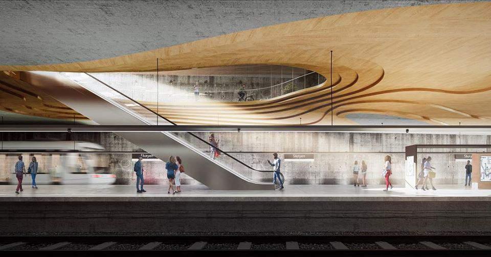 metro, design, architecture