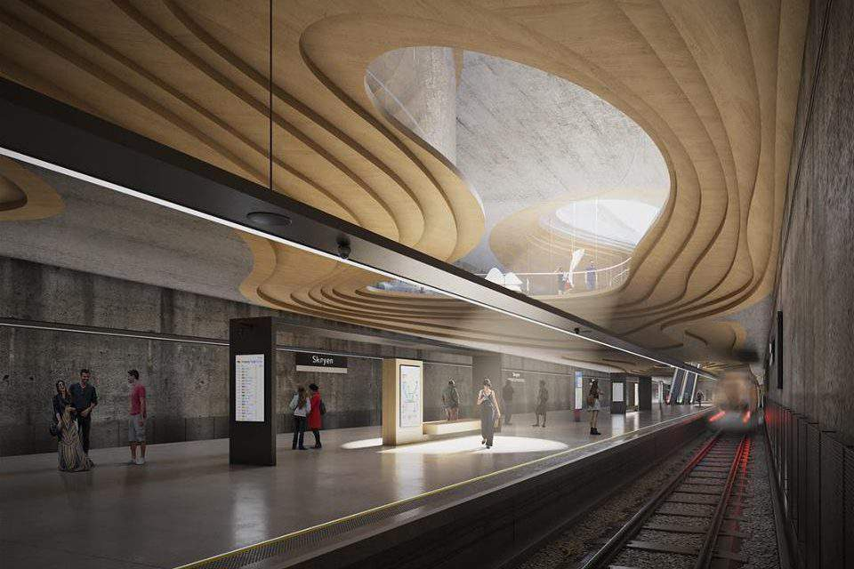 Norwegian architect invites Hungarians to design a metro station in Oslo