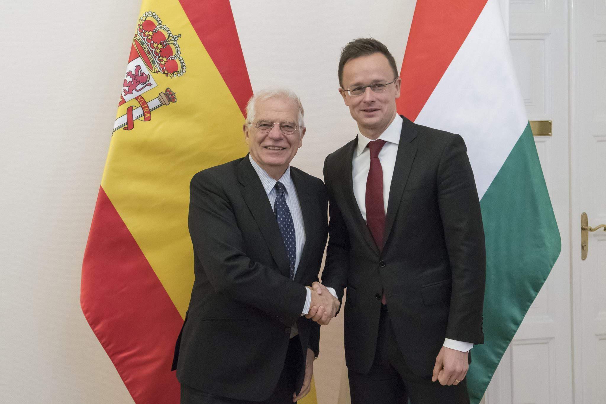 Hungary Spain