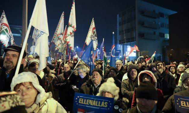 Another anti-government demonstration held in Budapest under opposition initiative
