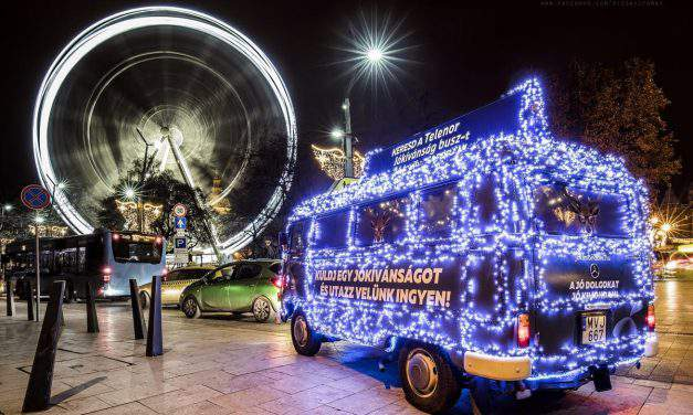 Travel for free with the most festive Christmas bus in Budapest – Photos of Tamás Rizsavi