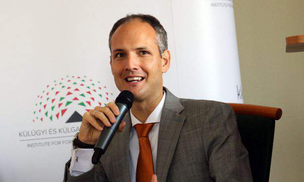 Interview with director of the Institute for Foreign Affairs and Trade Márton Ugrósdy