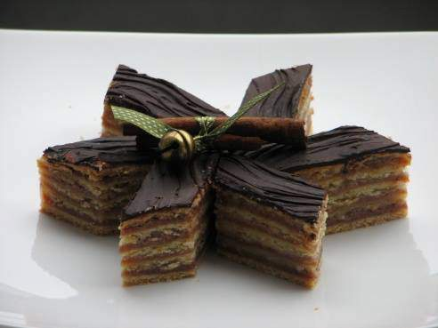 Christmas, cake, dessert