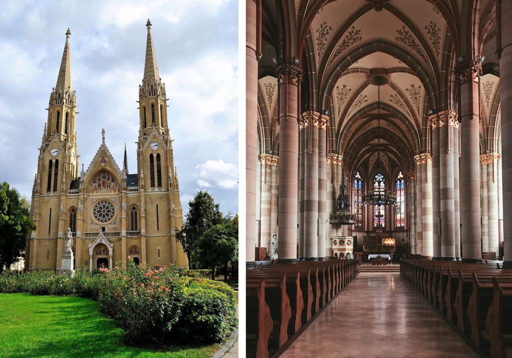 árpád házi szent erzsébet budapest church templom rózsák tere
