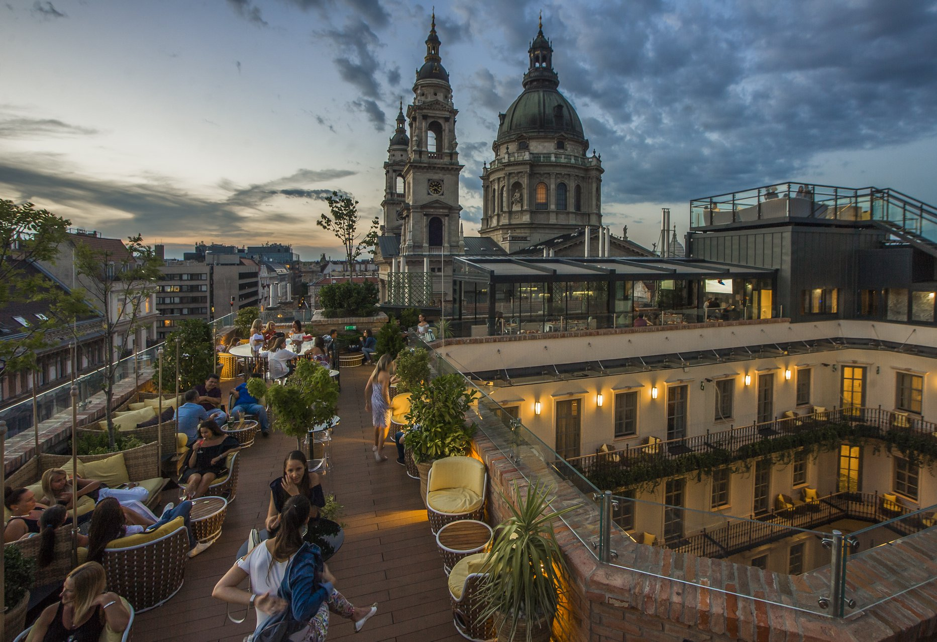 High Note Rooftop Bar Budapest