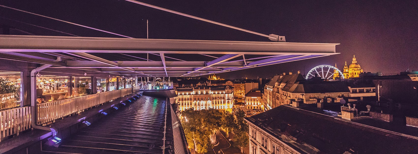 St. Andrea Rooftop Bar Budapest