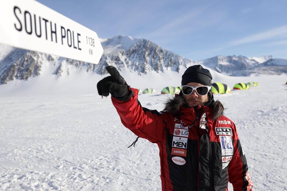 Gábor Rakonczay South Pole Expedition