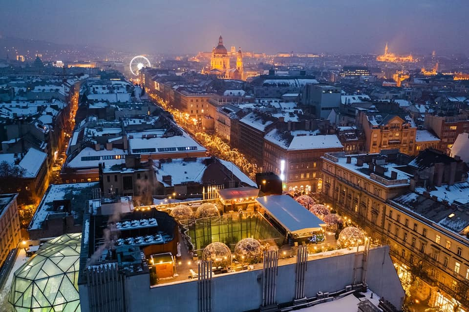 360 Rooftop Bar Budapest