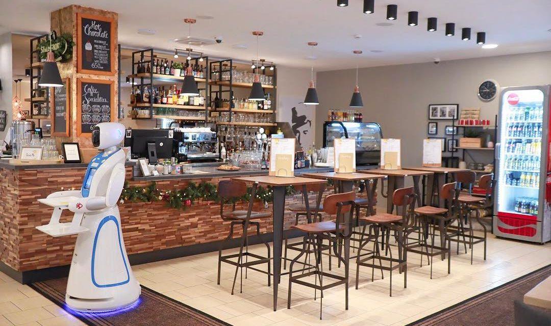The Hungarian café where robots serve your drink