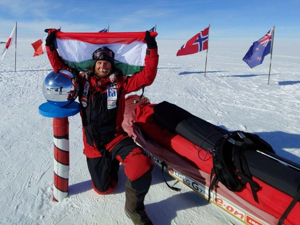 Gábor Rakonczay South Pole Expedition