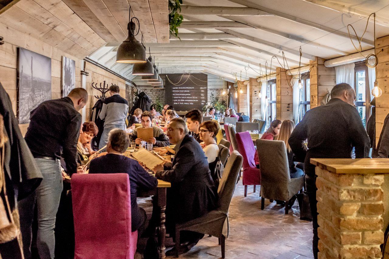 restaurant, gastronomy, food