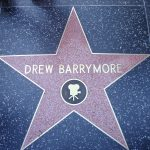 Drew Barrymore, Walk of Fame star on Hollywood Blvd.