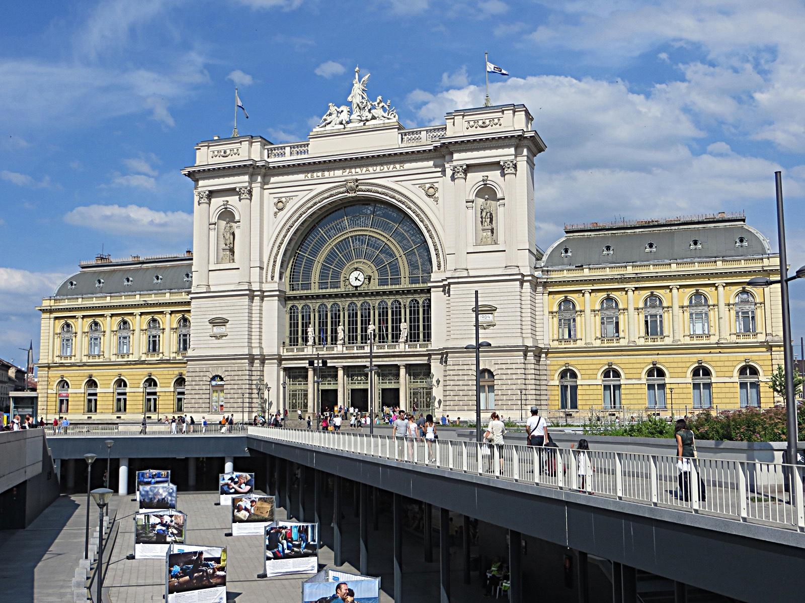 Keleti Pályaudvar Railway Station