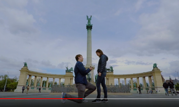 Amazing marriage proposals in Budapest – VIDEOS