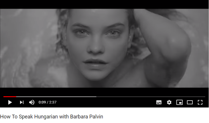 Barbara Palvin Hungarian