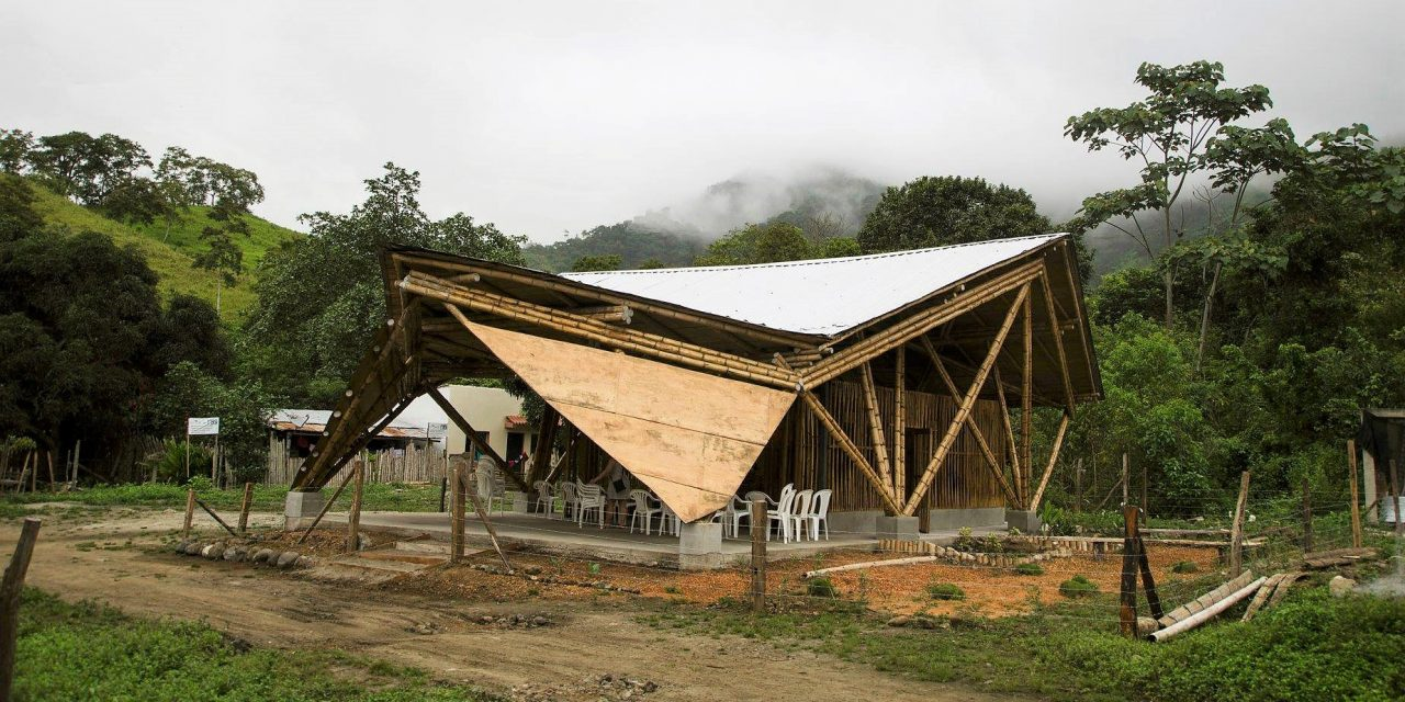 Hungarian built bamboo chapels saved lives in Ecuador