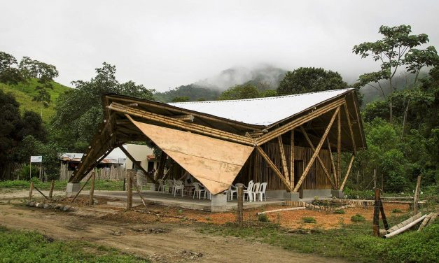 Hungarian built bamboo chapels saved lives in Ecuador