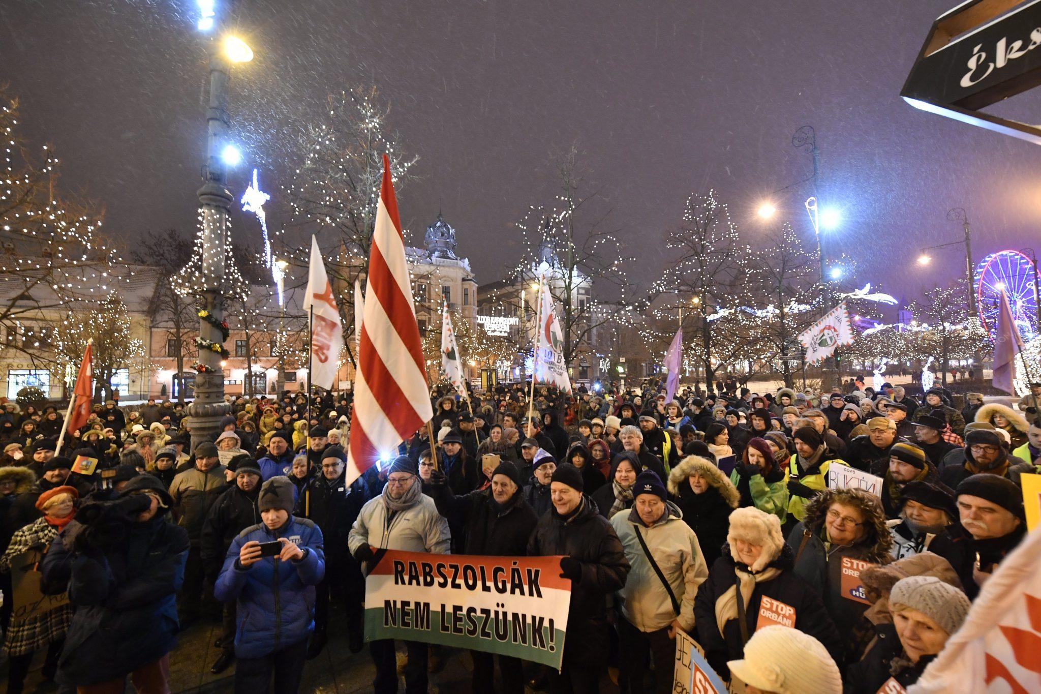 Debrecen demonstration