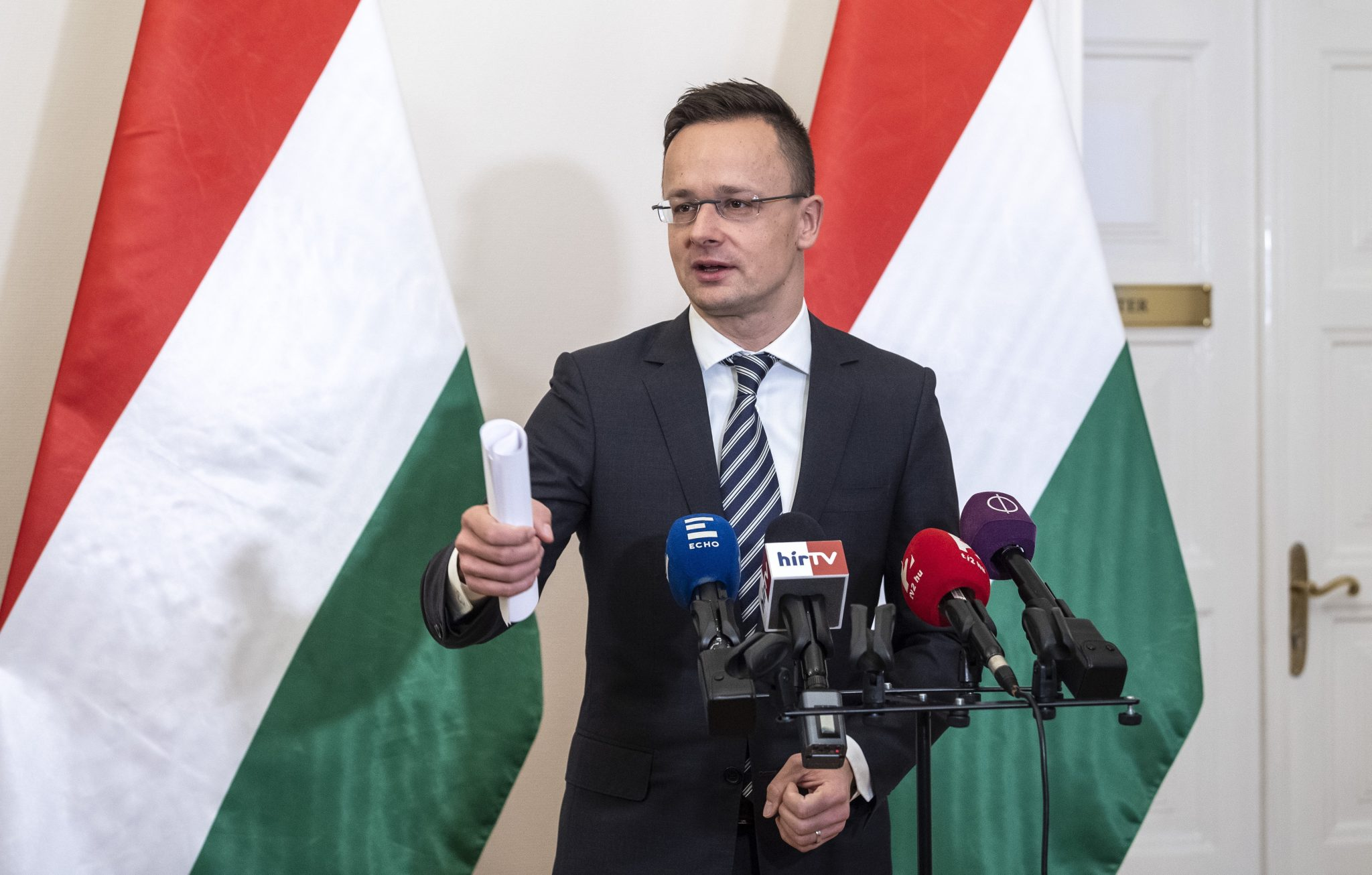 foreign minister Hungary