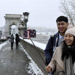 japanese tourist Budapest tourism