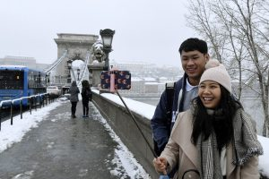 japanese tourist Budapest
