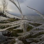 Lake Balaton winter