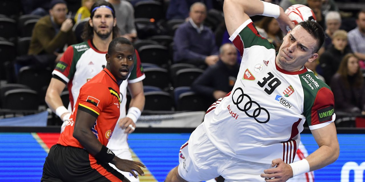Handball WC 2019: Hungary got their first win against Angola
