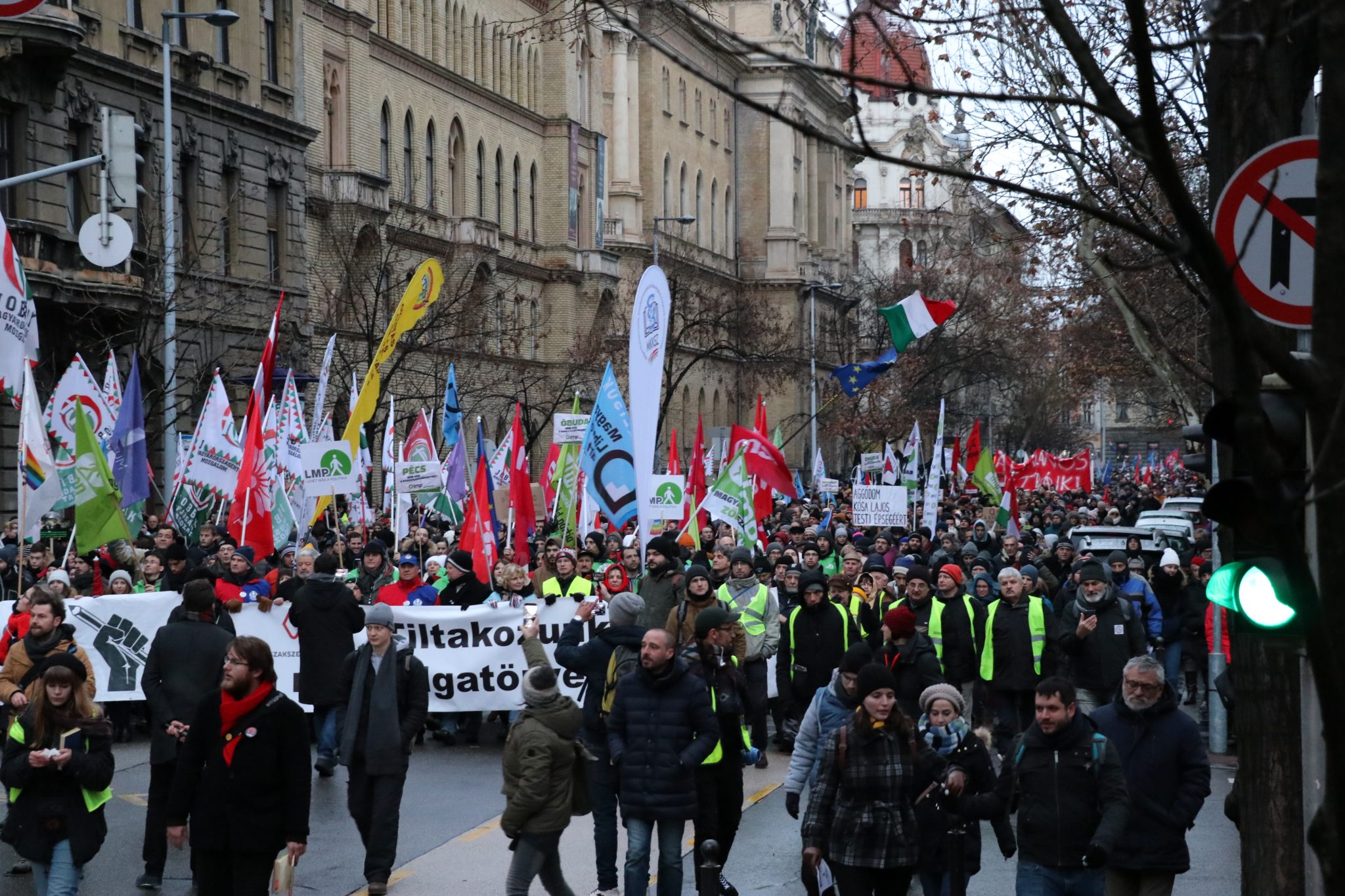 Anti-government Demonstration in Budapest