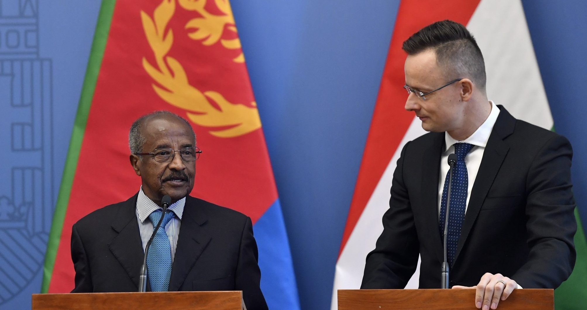 eritrea Hungary foreign ministers