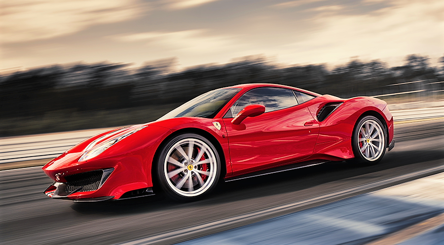Ferrari, car, Italy, red