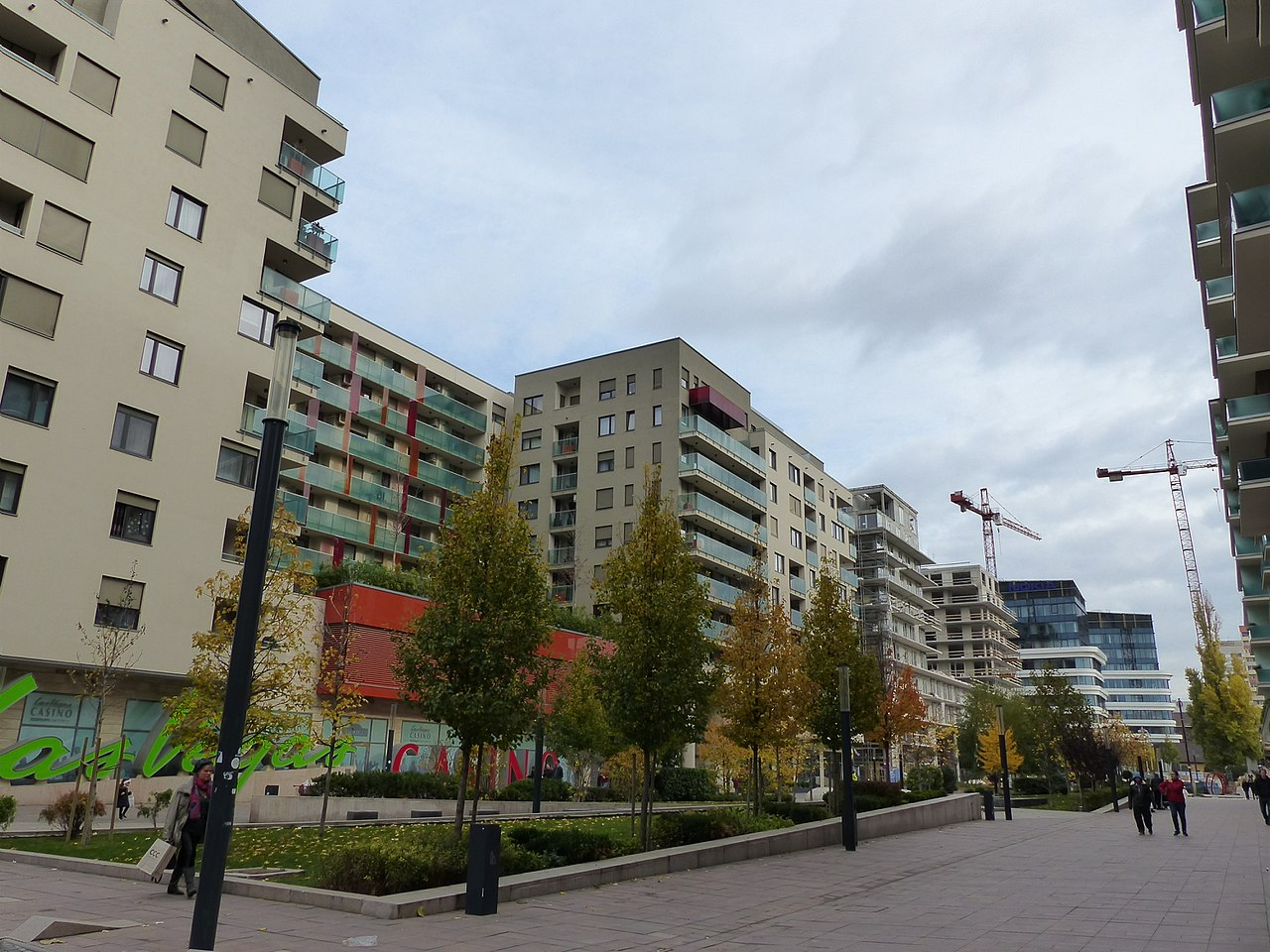 flat, Budapest, estate, city