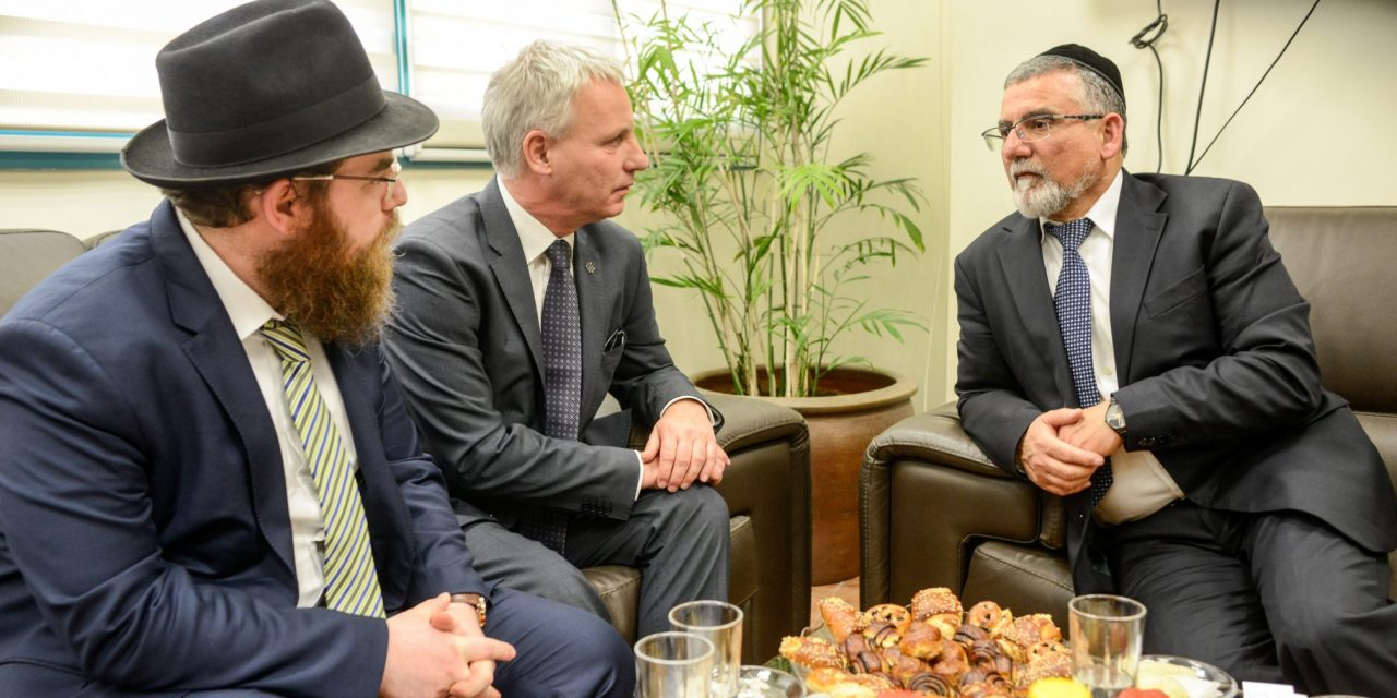 Hungarian state secretary discusses religious ties in Jerusalem