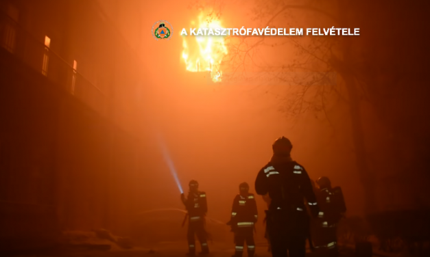 Fire at Budapest dorm: serious damages, overwhelming support