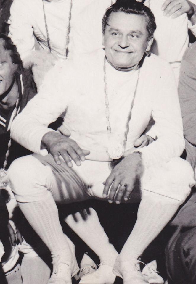 Kovács Pál, sportsman, legendary, fencer