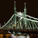 Liberty Bridge, Budapest, Hungary, bridge, sight