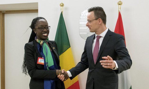Europe's security starts with Africa, says Hungarian FM Szijjártó