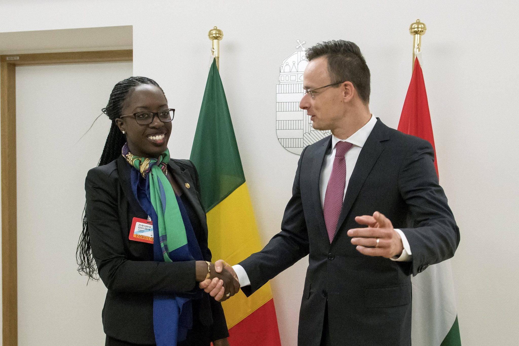 Mali Hungary foreign ministers