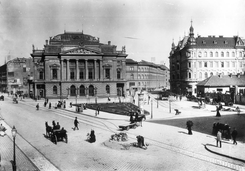 National Theatre, old, building