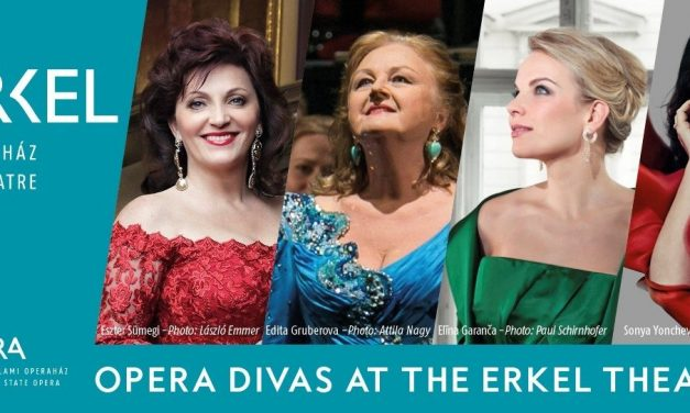 Opera divas at the Erkel Theatre