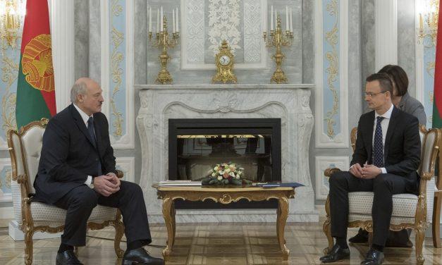 Hungarian Foreign Minister Szijjártó held talks in Belarus