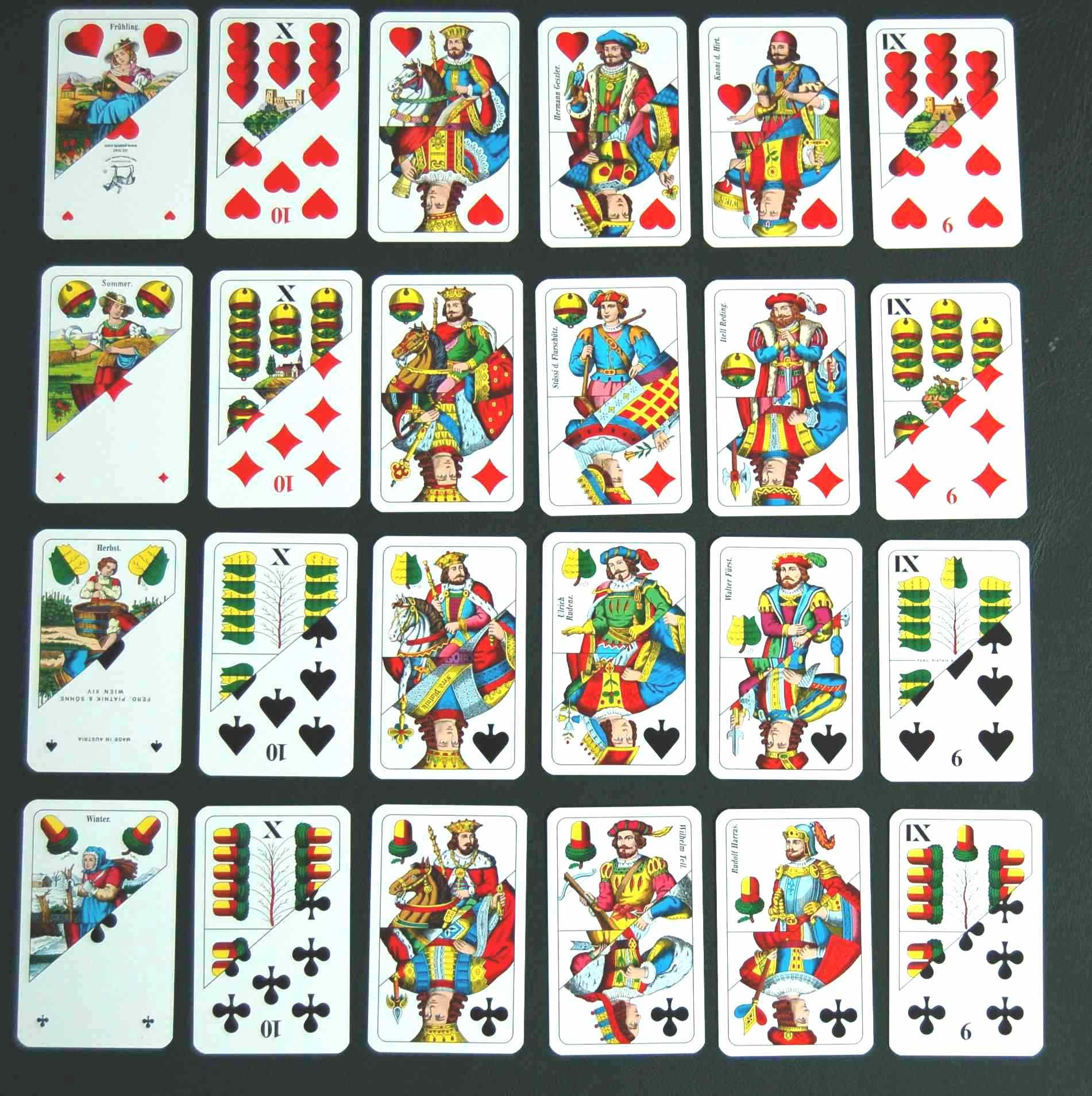 Hungarian Card Magyar Kártya