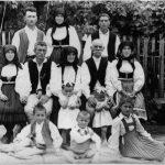 Szekler, family, old, black, traditional
