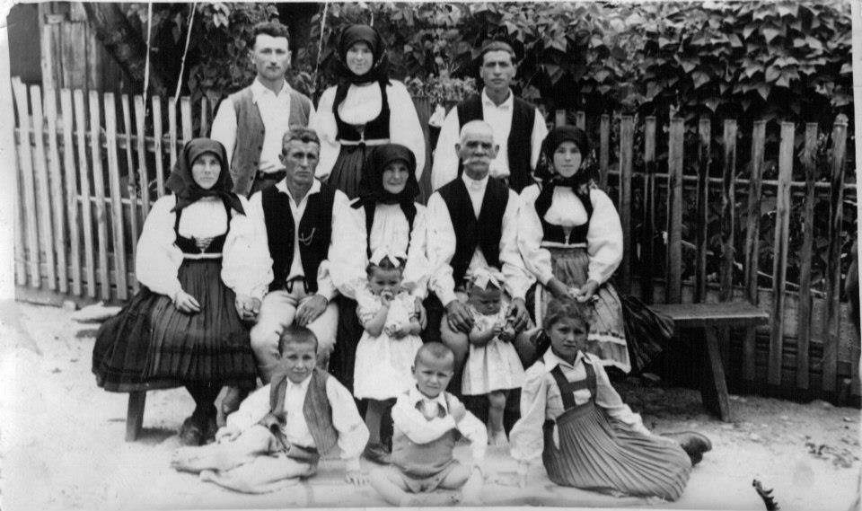Szekler, family, old, black, traditional