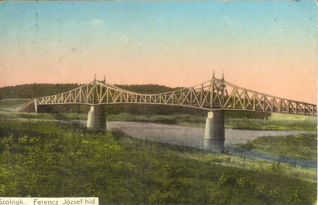 Szolnok, bridge, Hungary, history