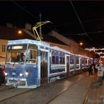 tram, Miskolc, advent, transport