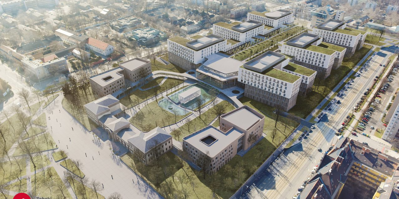 Here is the design of the new hospital centre in Budapest – VISUALS