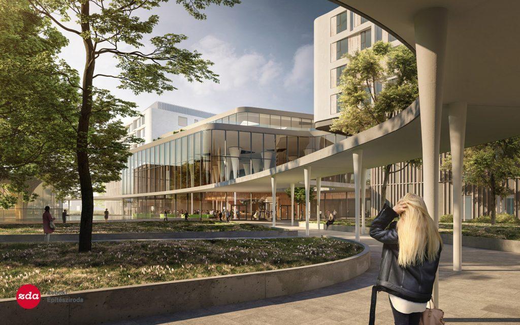 architecture, hospital