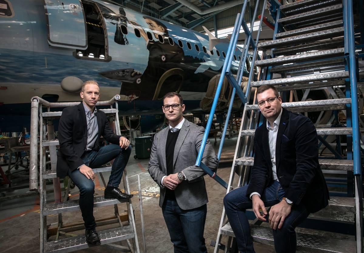 plane, startup