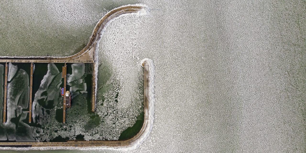 The icy glory of Lake Balaton – PHOTOS