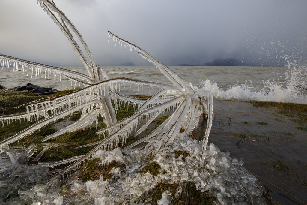 winter Lake Balaton